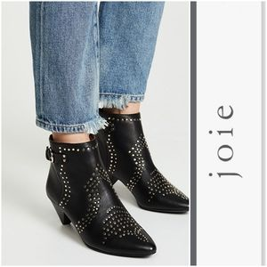 Sassy Joie Western Inspired Studded Booties